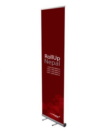 Roll up Large Nepal - Soporte Publicitario