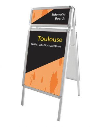 Caballete Publicitario de Aluminio Doble Cara Toulouse