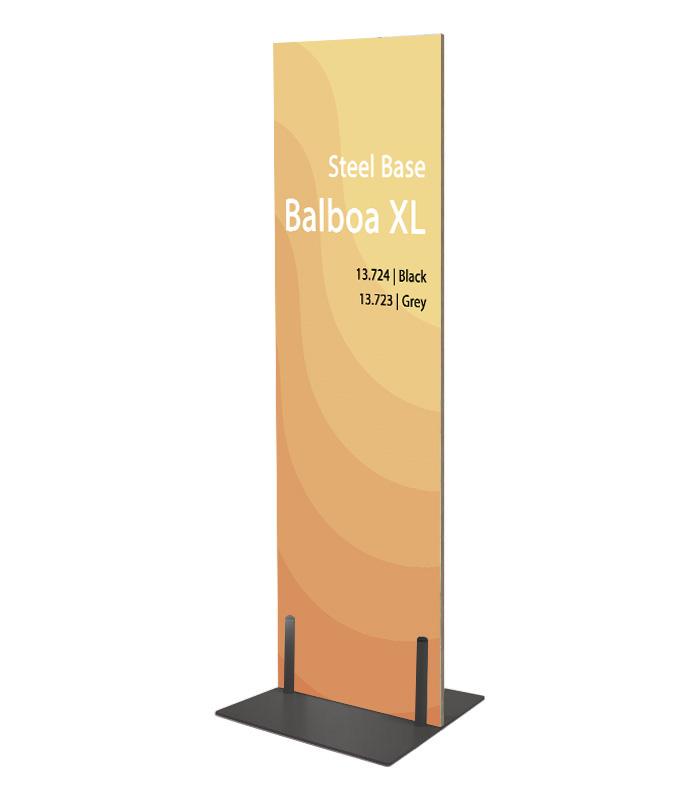 Base de Acero para Gráficas Rígidas Balboa XL