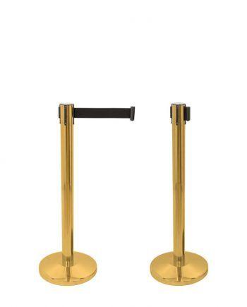 Poste Separador Dourado