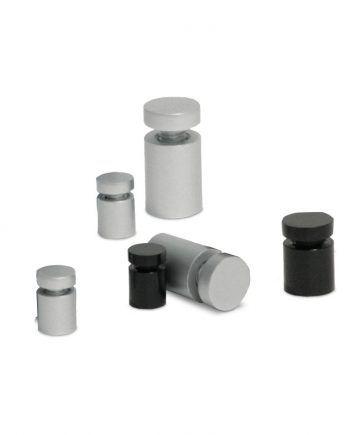 Separadores de Alumínio para placas Ø19x25mm