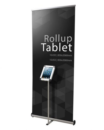 Rollup com Tablet