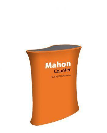 Mostrador Publicitario Textil Mahon